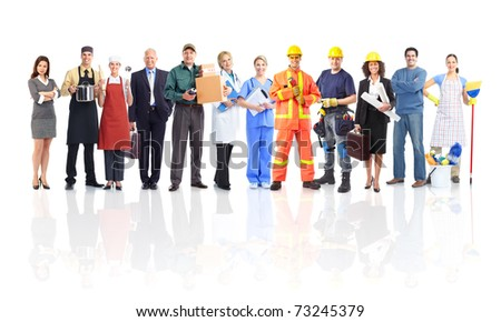 workers people - stock photo