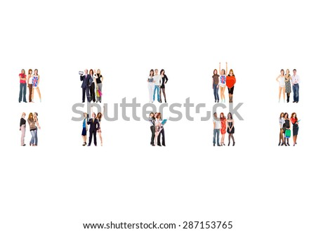 Workforce Concept Corporate Teamwork  - stock photo