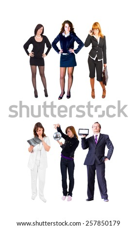 Workforce Concept Team Together  - stock photo