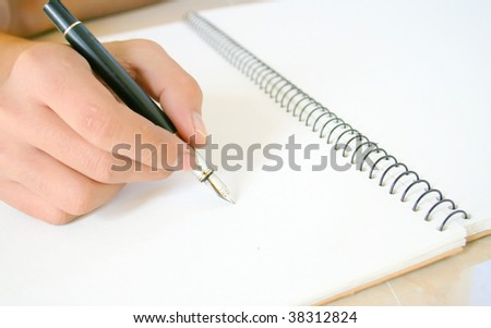 working - stock photo