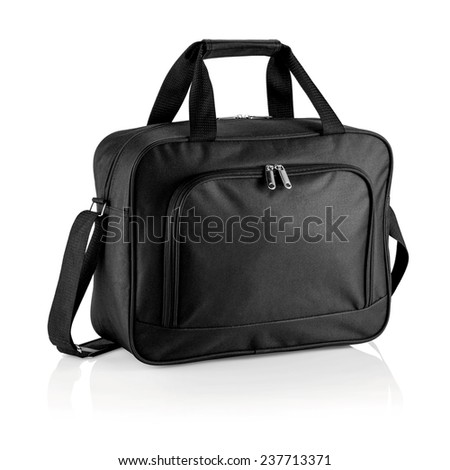 working bag, briefcase isolated on white background