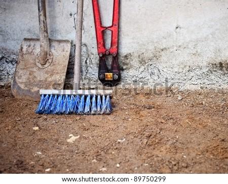 Working tools - stock photo