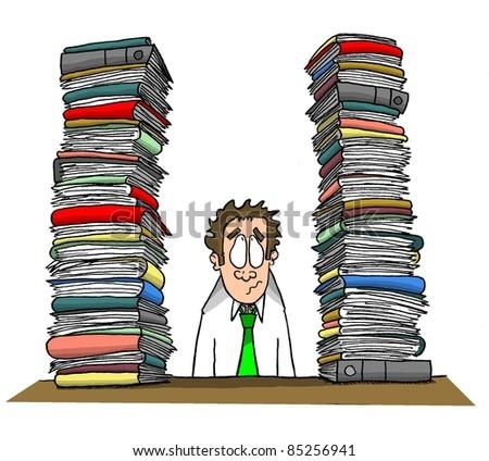 Workload - stock photo