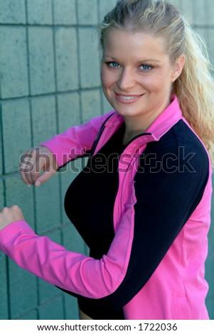 workout - stock photo