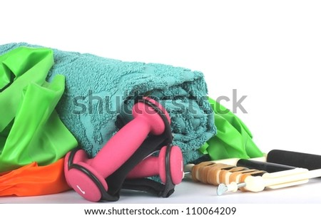 Workout Equipment - stock photo