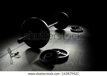 Workout Motivation - stock photo