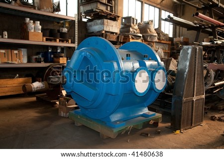 Workshop: construction of vacuum pumps