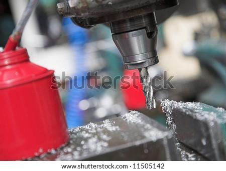 Workshop Drill - stock photo