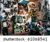 Workshop equipment - stock photo