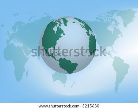 World - stock photo