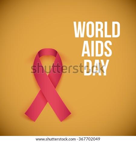 World AIDS Day 1 december 2014. illustration - stock photo