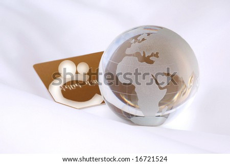 World and International gold credit card