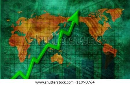 World Business - stock photo