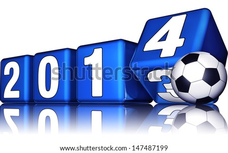world championship 2014 - stock photo
