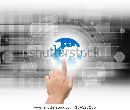 World Connect Concept - stock photo