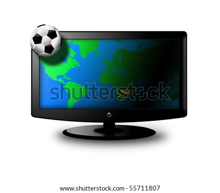 world cup on television