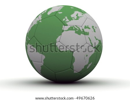 World cup soccer ball - stock photo