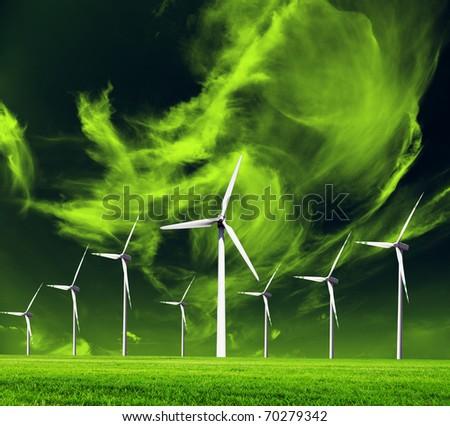 World ecology-conceptual image - stock photo