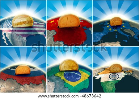World Economy - stock photo