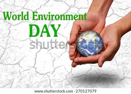world environment concept - stock photo