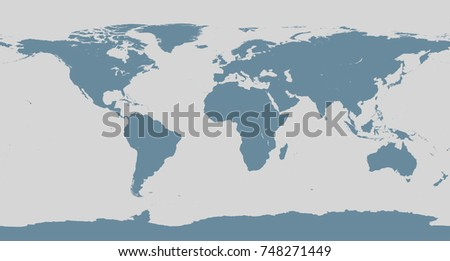 Accurate map world includes antarctica maps stock photo 2899719 world map sciox Choice Image