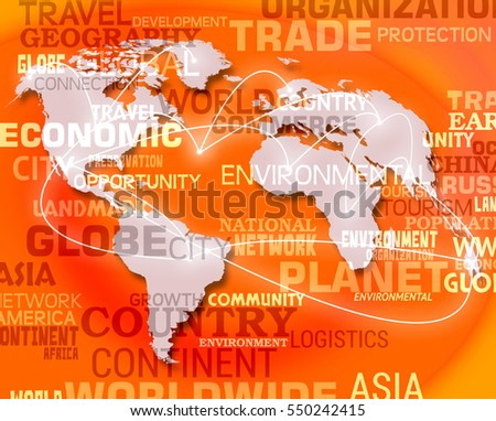 World Map Background Meaning International Oceans Or Global Maps