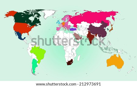 World map: G20 Nations