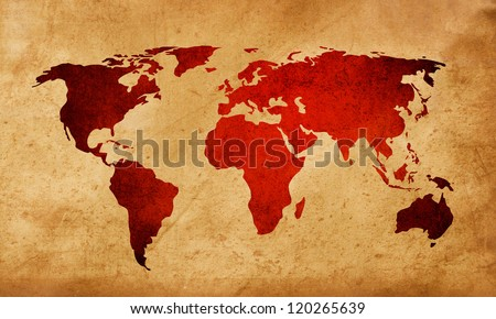 world map textures and backgrounds for your design - stock photo