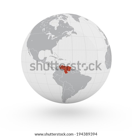 World map venezuela america ilustracin en stock 194389394 world map venezuela america gumiabroncs Images