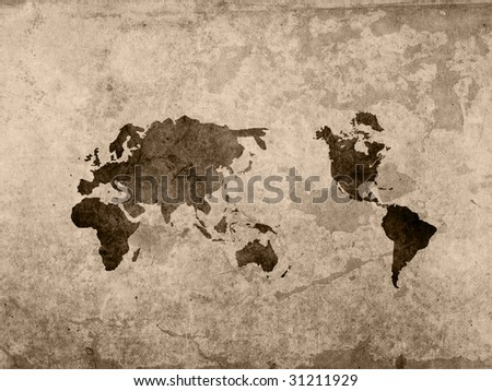 World map vintage artwork stock illustration 31211929 shutterstock world map vintage artwork gumiabroncs Image collections