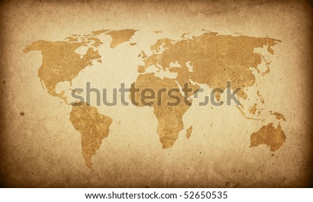 World map vintage artwork perfect background stock illustration world map vintage artwork perfect background with space for text or image gumiabroncs Images