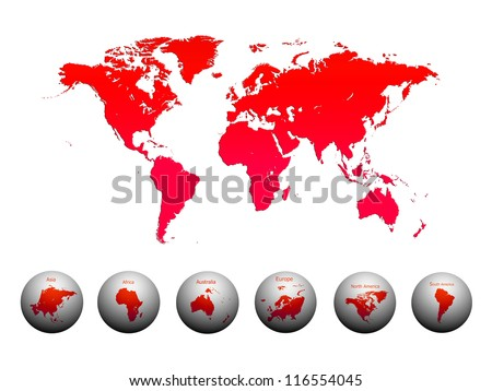 World Map, World background