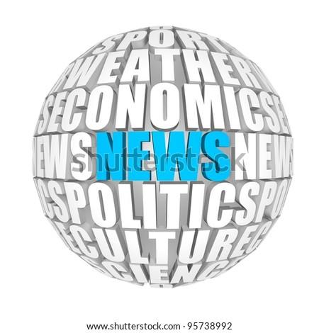 World News - stock photo
