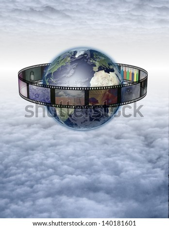 World Photo - stock photo