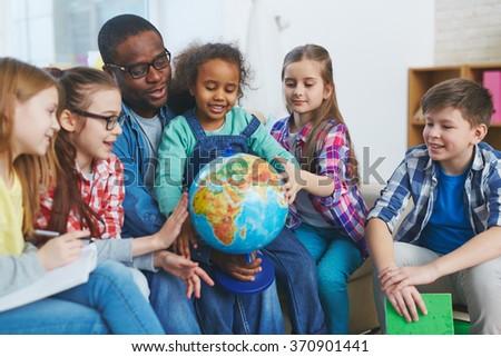 World studies - stock photo