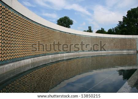 World War II Memorial, Washington DC - stock photo