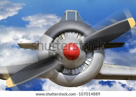 World War Two Russian aircraft - stock photo