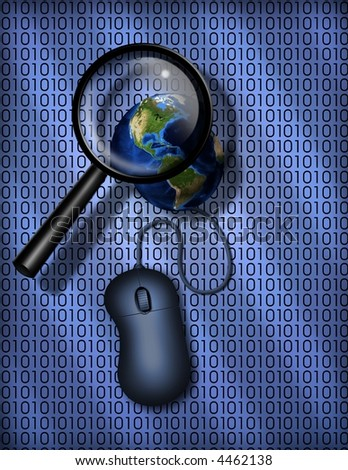 World Wide Web search - stock photo
