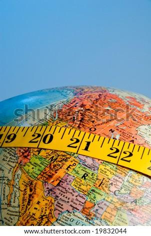Worldwide Obesity Concept - stock photo