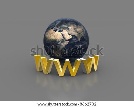 Worldwideweb - stock photo