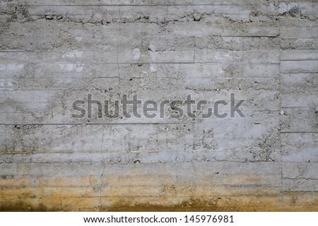 Worn Concrete Wall - stock photo