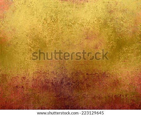 worn gold and pink background texture - stock photo