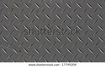 Worn grunge metal texture with detail