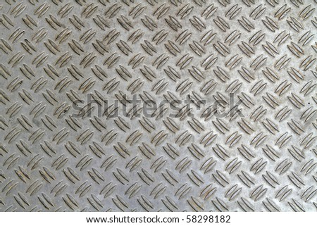Worn grunge metal texture with detail - stock photo