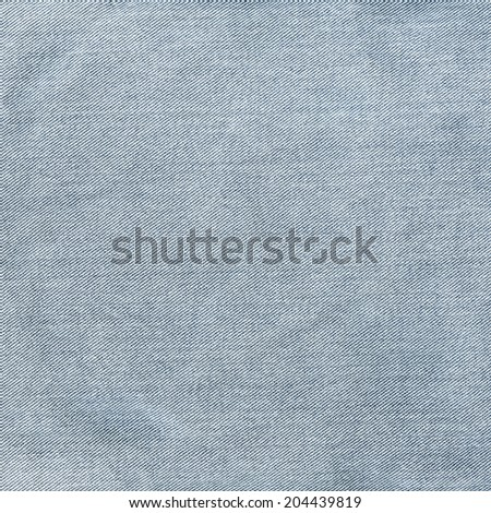 worn old blue jeans texture - stock photo