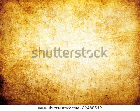 Worn old paper background. - stock photo