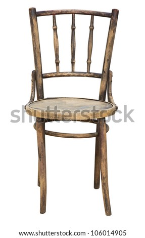 Worn Out Old Wooden Chair