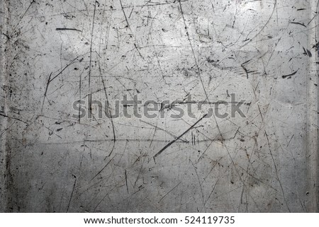 Worn scratched metal texture