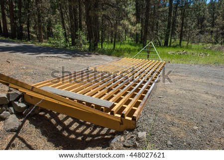 Cattle Grid Stock Photos Royalty Free Images Amp Vectors