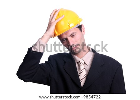 worried architect